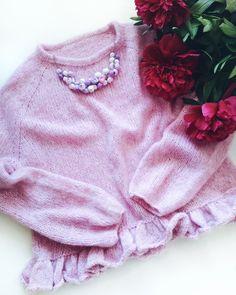 Нежный свитер из drops air Boho Shorts, Knitting, Handmade, Women, Fashion, Moda, Hand Made, Tricot, Fashion Styles
