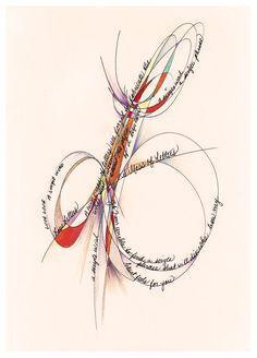 Calligraphy L #l | calligraphy | Pinterest
