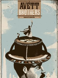 Great gig poster design