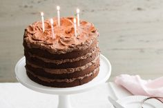 Looking+for+a+moist+and+tasty+chocolate+birthday+cake+recipe?+Look+no+further.