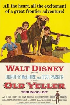 The Disney Films: Old Yeller 1957