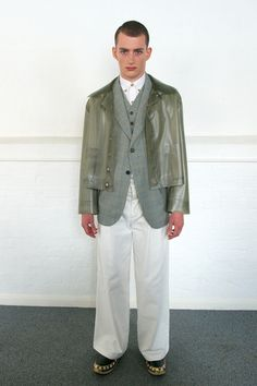 Meadham Kirchhoff Spring 2014 Menswear Collection Slideshow on Style.com