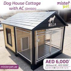 Dog House Cottage with AC   MisterPet.ae  Order Online Now >>https://goo.gl/fSS4DR #MisterPet #MisterPetUAE #MisterPetDubai