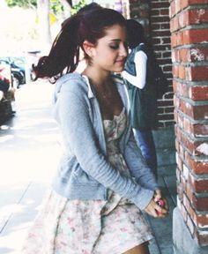 Ariana Grande. Girly yet sporty