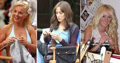 Celebrity Knitters