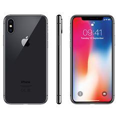 "Buy Apple iPhone X, iOS 11, 5.8"", 4G LTE, SIM Free, 64GB Online at johnlewis.com"