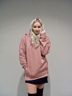 Sweater in Old Pink Smart Styles, Dress First, Urban Fashion, Street Style, Sweaters, Pink, Collection, Women, Urban Style