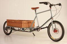 Espectacular bici de carga posterior