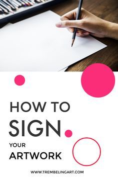 One of the most difficult tasks for a beginner artist is deciding how to sign your artwork. Where do you sign? Acrylic Painting Techniques, Painting Lessons, Art Techniques, Art Lessons, Painting Tips, Dot Painting, Selling Art Online, Online Art, Cool Signatures