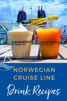 If you are planning to celebrate Memorial Day and the unofficial start to summer this weekend, grab the ingredients for your favorite NCL cocktails and mix up one of these cruise beverages in our Top Norwegian Cruise Line Drink Recipes. #cruise #cruisedrjnks #drinkrecipes #eatsleepcruise #summercocktails