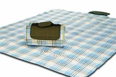 Picnic Plus Mega Mat - Extra Large, Comfy, Outdoor Blanket with Waterproof Backing - Beige ** Check this awesome product by going to the link at the image.