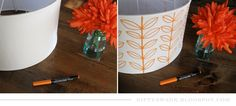 NiftySwank: Project No.7 : DIY Lamp Shade Design