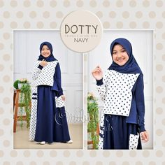 Dotty by oribellekids Navy, Kids, Fashion, Children, Moda, Boys, Fashion Styles, Fashion Illustrations, Babies