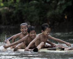 River Kids..... by dewan irawan, via 500px.