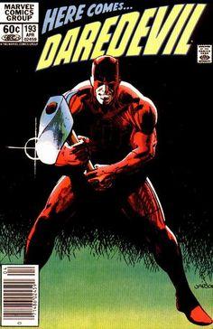 Daredevil # 193 by Klaus Janson