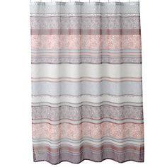 Home Classics® Meduri Paisley Fabric Shower Curtain