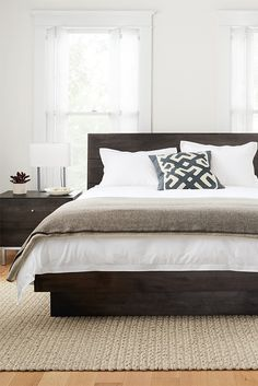 modern wood bedroom furniture. Hudson Bed Modern Wood Bedroom Furniture