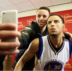 Stephen with Curry