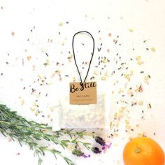 This Salt + Glow Be Still Bath Tea is designed to soothe and relax you as you bathe in the Lavender- and Orange- infused water. Orange Essential Oil, Essential Oils, Bath Tea, Infused Water, Lavender Flowers, Body Wash, Be Still, Salt, Glow