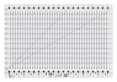 Creative Grids Stripology Ruler By Erla, Gudrun  - Reduce your rotary cutting time by up to 75% with the Stripology ruler.  Cut up your full width fabric and fat quarters into the most popular pre-cuts on the market – 1 ½ & 2 ½ inch strips; 5 & 10 inch squares. %0A%0A %0A%0ANeed to cut in quarter-inch increments?  No problem - follow the chart included i