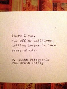 love cute quote perfect words young romance lovely deep sweet Daisy The Great Gatsby heartache fallen scott fitzgerald The Great Gatsby, Great Gatsby Quotes, Great Quotes, Quotes To Live By, Inspirational Quotes, Motivational, The Words, Cool Words, Quotable Quotes