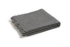Buy PIED DE POULE BLACK #CASHMERE THROW online. Amancara, #luxury linens since 1952.