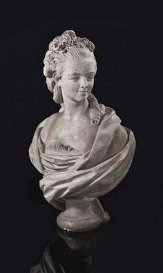 View Buste En Platre Representant Probablement Marie Adelaide De France, Dite Madame Adelaide Workshop of Augustin Pajou; Access more artwork lots and estimated & realized auction prices on MutualArt. French Royalty, Tudor History, French Art, Madame, 18th Century, Les Oeuvres, Sculpting, Artwork, Marie Antoinette