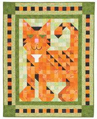 Purr Patch Pal Quilt Kit from QuiltandSewShop.com