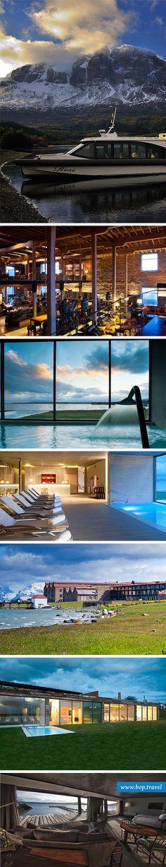 The Singular Patagonia, Puerto Bories Hotel. Luxury Hotels of South America www.bop.travel