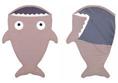 Los sacos bebe tiburon de Babybites son el regalo perfecto