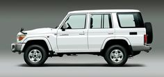 2015 Toyota Land Cruiser 70 Series Limited Edition Review White Model