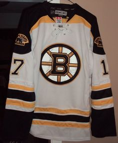 f35c5a653 Boston Bruins Authentic Pro Reebok Edge 2.0 XL Away Jersey Milan Lucic  17  NWT