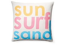 Surf 18x18 Pillow