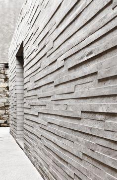 concrete structured wall #NaaiAntwerp