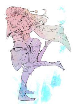 Fire Emblem: If/Fates - Kamui and Leon