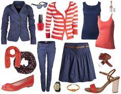 Maritimes Kombi-Outfit - Businessoutfit - stylefruits.de