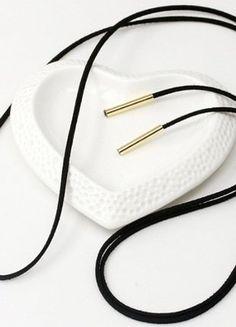 Kup mój przedmiot na #vintedpl http://www.vinted.pl/akcesoria/korale-wisiorki-naszyjniki/19108958-choker-w-kolorze-czarnym-nowy