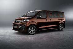 News: Peugeot Traveller i-Lab - Vernetzt Busfahren