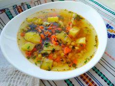 Supă aromată cu mazăre bogată în vitamine și benefică pentru organism...