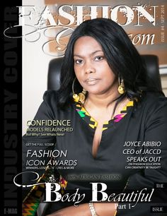 Joyce Ababio Makes Front Cover Of Our Body Beautiful Industry Term | FashionGHANA.com (100% African Fashion)