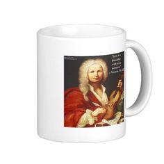 #Vivaldi & #Friendship #Quote #Mug @RLondonDesigns #zazzle #gift #coffee #sale #music