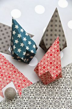 pliage en papier coloré, comment faires des origamis faciles a realiser