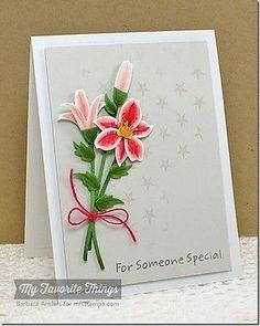 my favorite things die-namics lily