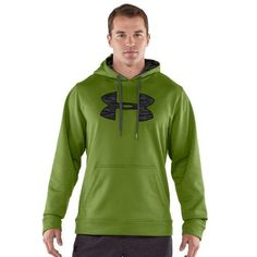 Men's Armour® Fleece Storm Big Logo Hoody Tops by Under Armour Small Kildare by Under Armour, http://www.amazon.com/dp/B00945C8E8/ref=cm_sw_r_pi_dp_dmrnrb0Q6PY78