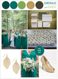 Emerald-and-gold-wedding-ideas