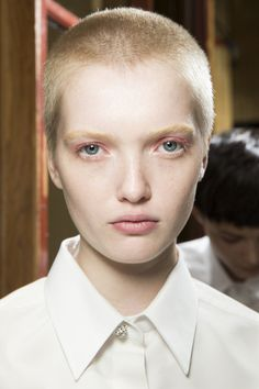 Lanvin Spring 2016 Ready-to-Wear Beauty Photos - Vogue