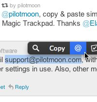 PopClip para MAC herramienta polivalente copiar pegar traducción etc.