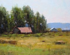 John Hughes (plein air) Red House