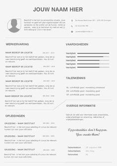Carrière cv Best Resume, Resume Cv, Creative Resume Templates, Cv Template, Lettering, Curriculum, Composition, Ss, Training