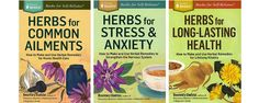 books by Rosmary Gladstar on herbs